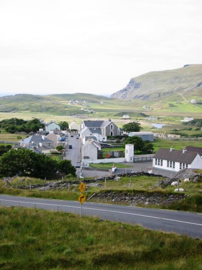 Cashel, Glencolmcille, in summer time